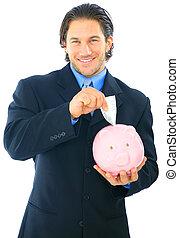 Save Money On Piggy Bank