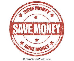 Save money-stamp
