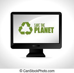 Save planet ecology
