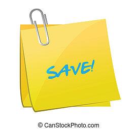 save post illustration design
