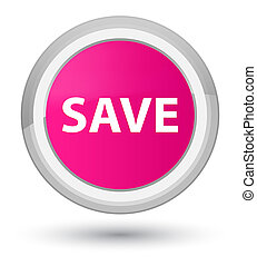 Save prime pink round button