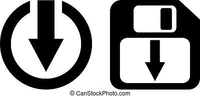 Save symbol