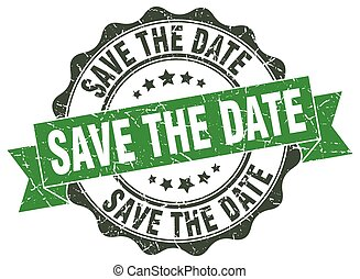 save the date stamp. sign. seal