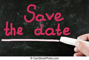 save the date - save the date
