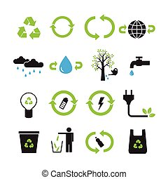 Save the earth, reduce vector set