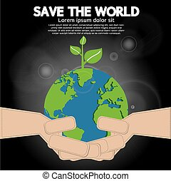 Save The World Conceptual.