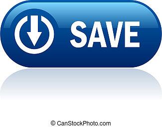 Save vector button