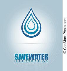 save water design