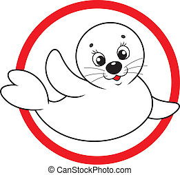 Save white-coat seal