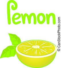 saveur, citron