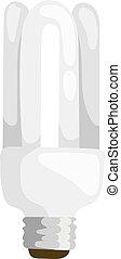 Saving bulbs vector illustration seamless pattern background...