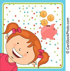 saving children design, vector illustration eps10 graphic