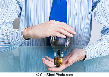 Saving electric energy