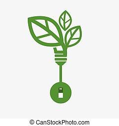 Saving Energy Concept Vector Illustration