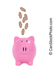 Saving Finance Concept