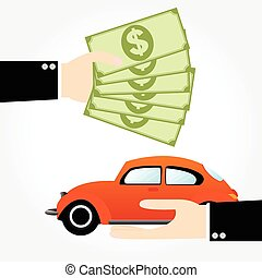 Saving money car