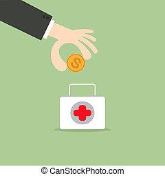 Saving money for medical care