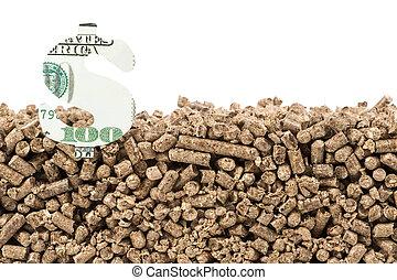 Saving pellet and dollars sing
