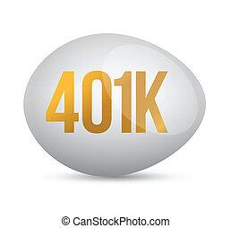savings 401k financial planning retirement design over a ...