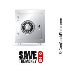 savings icon - saving icon over white background vector...