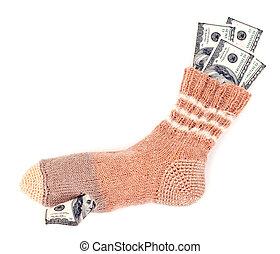 Savings in the sock