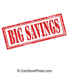 savings-stamp, μεγάλος