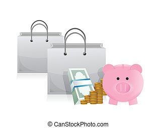 savings to shop