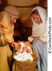 Savior born