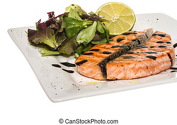 savory fish portion : roasted norwegian salmon fillet ...