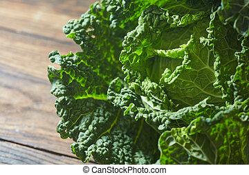 Savoy cabbage super food close up. - Savoy cabbage super ...