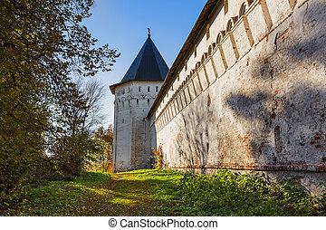 Savvino-Storozhevsky Monastery in Zvenigorod - Moscow region - Russia - travel and architecture background