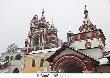 Savvino Storozhevsky monastery. Zvenigorod. Moscow region. Russia