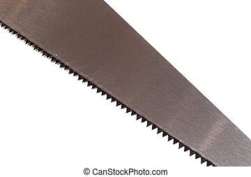 Saw blade isolated on a white background