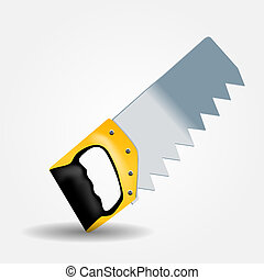 Saw icon vector illustration
