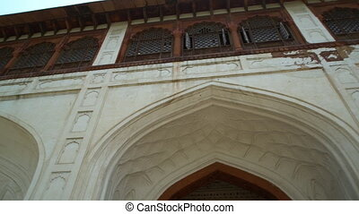 Sawan or Bhadon Pavilion in Hayat Baksh Bagh. - At Red Fort...