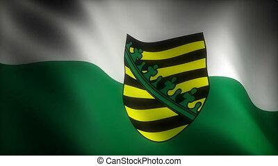 saxe, drapeau