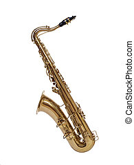 Saxophone from 1930\'s - Vintage saxophone, carefully...