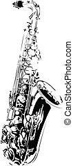 Vector saxophone
