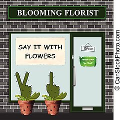 Say it with flowers florist - Say it with flowers poster in ...