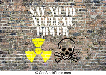 Say no to nuclear power