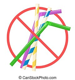 Say no to plastic straw for drink