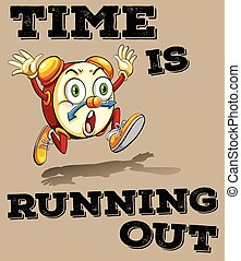 Saying time is running out