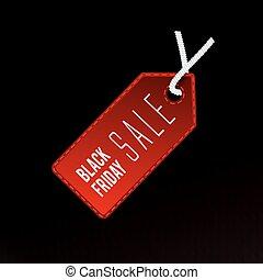 sazonal, desconto, símbolo, venda tag