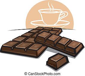 sbarra, cioccolato