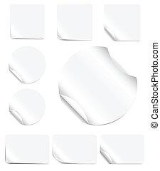 sbucciatura, adesivi