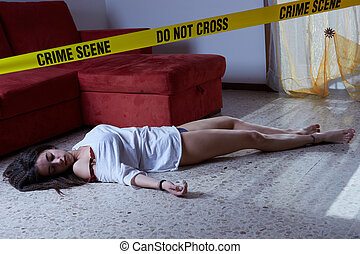 scène crime