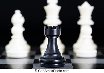 scacchiera, pezzi gioco scacchi