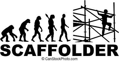 scaffolder, évolution