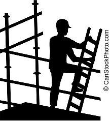 scaffolder, travail