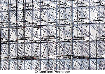building series: city site under construction texture